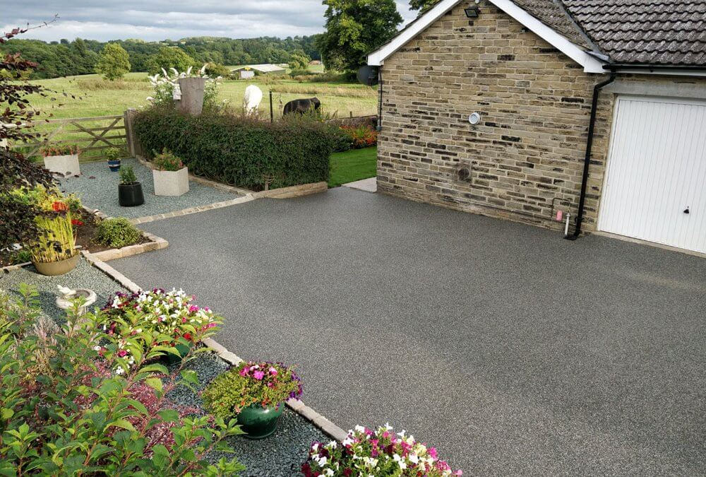 Resin Driveway and patio in Kirkby Malzeard