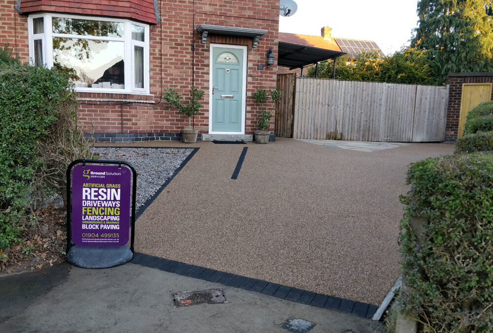 Driveway and patio in Acomb, York